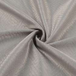 Жаккард скатерковий лабіринт сірий світлий, ш.320