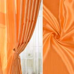 Шанзелізе для штор помаранчева яскрава ш.300