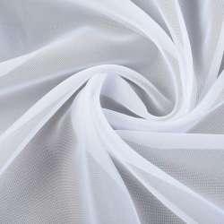 Вуаль гладка біла обважнення ш.310