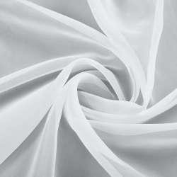 Вуаль белая с утяжелителем, ш.300