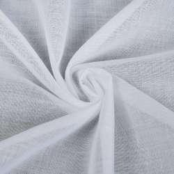Батист гардинный белый, с утяжелителем, ш.260
