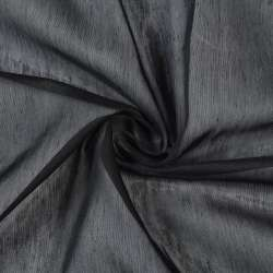 Батист гардинний чорний, з обважнювачем, ш.300