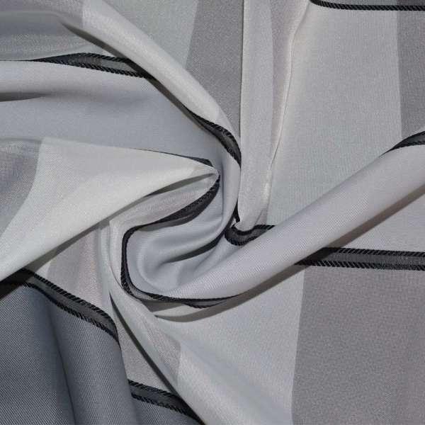 вуаль белая с атлас. серыми полосками Германия ш.150