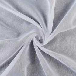 Вуаль Жакки. біла з дрібними штрихами обважнення, ш.260