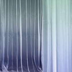 Органза деворе блакитна бліда