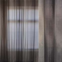 кристал-органза сіро-смугаста рапорт ш.295