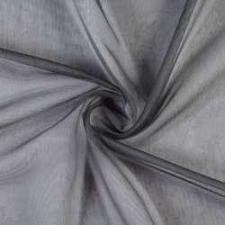 Лен гардинный серый графит с утяжелителем Германия, ш.300