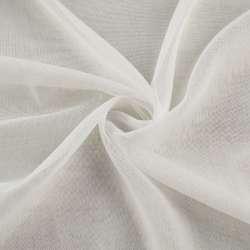 Льон гардинний білий з обважнювачем, ш.260