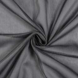 Лен гардинный серый темный с утяжелителем, Германия, ш.300