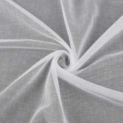 Льон гардинний білий з обважнювачем, ш.300