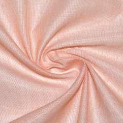 лен металлик гардин. оранжево-персиковый Германия ш.300