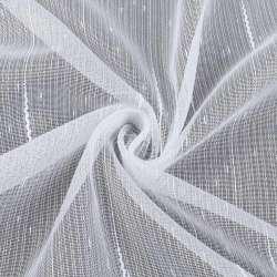 Лен гардинный с ниточными полосами с уплотнениями и штрихами с утяжелителем, ш.260