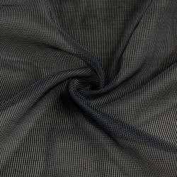 Органза тюль смужки ниткові густі сірі темні, сіра з обважнювачем, ш.250