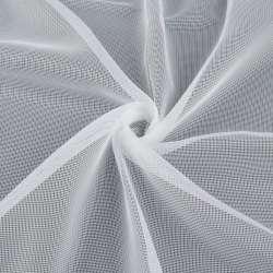 Сітка тюль біла з обважнювачем, ш.180