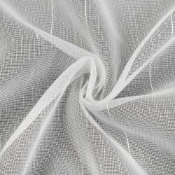Мікросетка біла з блискучими штрихами, з обважнювачем, Німеччина, ш.260