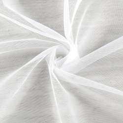 Мікросітка тюль біла з обважнювачем, ш.260