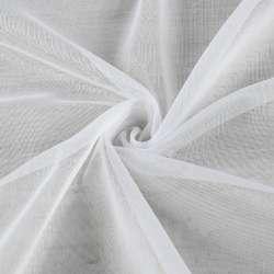 Мікросітка тюль біла з обважнювачем, ш.300