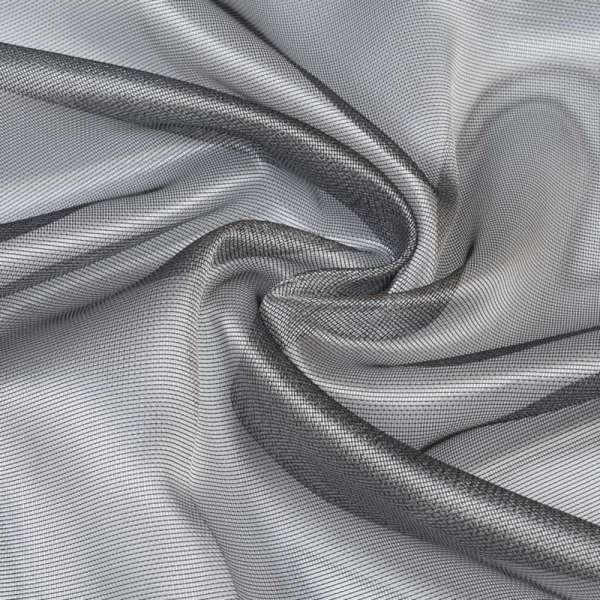 Микросетка хамелеон серо-черная, с утяжелителем, ш.300