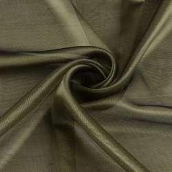 Микросетка хамелеон оливковая, с утяжелителем, ш.300
