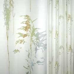 тк.порт.Деваре белая с сереб-зелен-бирюз дерев.ш140