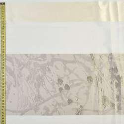 Жаккард портьєрний білий, ш.130