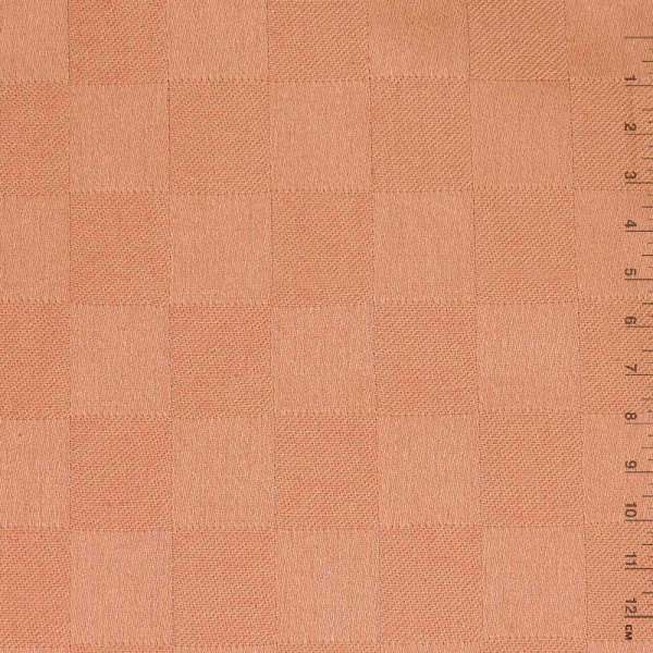 """Тканина скатерна теракотово-рожева """"шахівка"""", ш.140"""