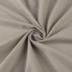 Льон полегшений сіро-бежевий світлий з обважнювачем, ш.300