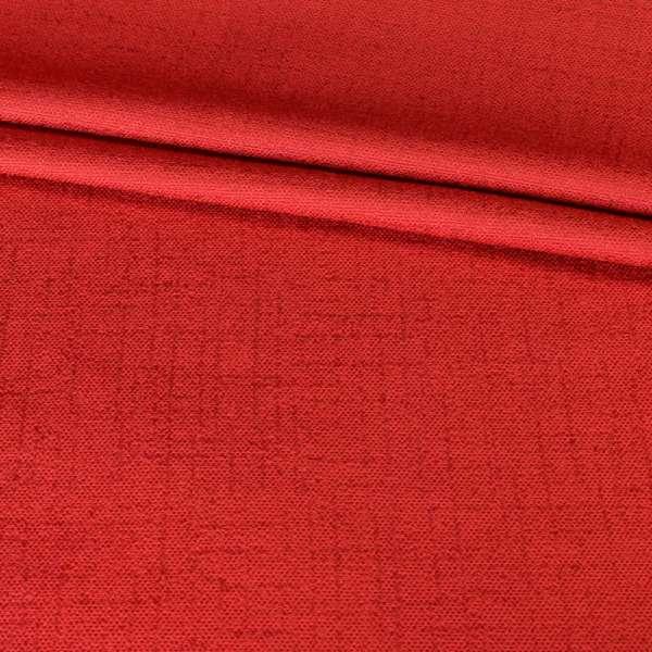 Лен портьерный красный, ш.280