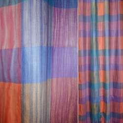 тканину порт. з сирен-синіми і червоними прямоуг.ш140