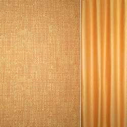 Рогожка золотисто-оранжевая ш.140