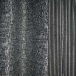 Рогожка CADIZ серо-белая с бликами ш.140