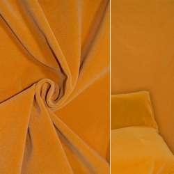 Велюр вовняний меблевий яскраво жовтий ш.140