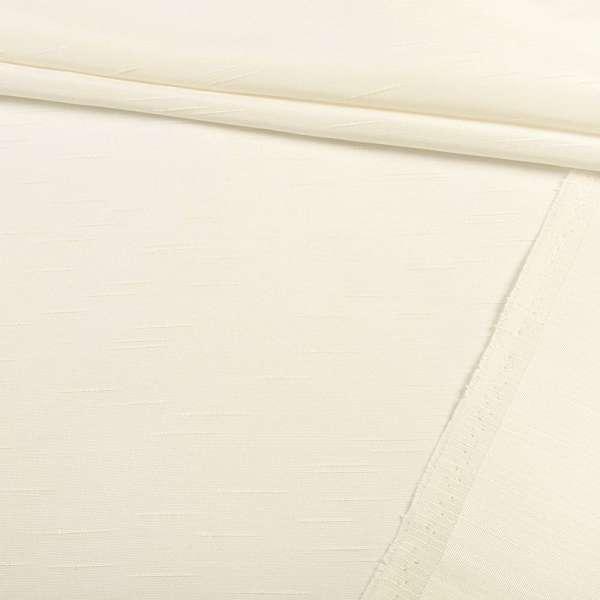 Ультра портьерная молочная в структурные штрихи, ш.150