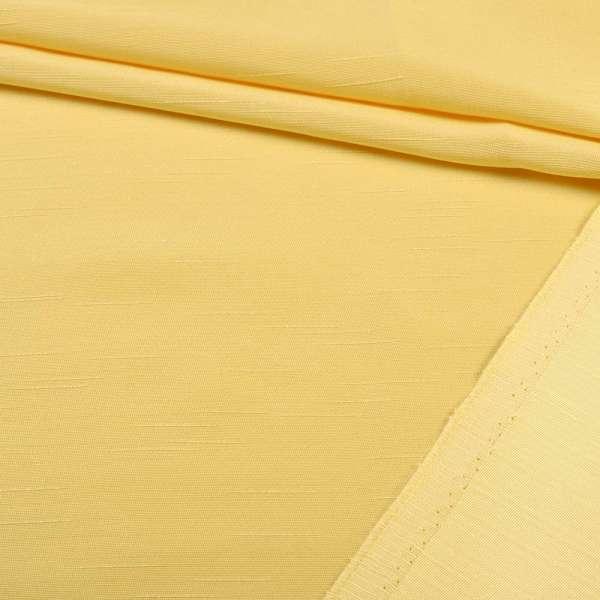 Ультра портьєрна жовта в структурні штрихи, ш.150