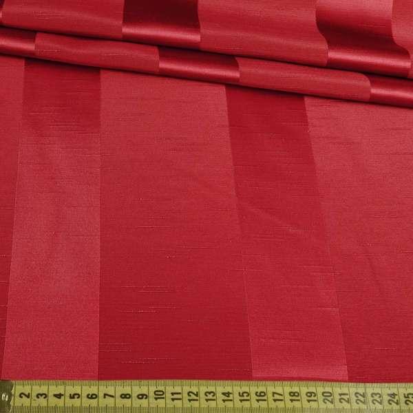 Ультра портьерная бордовая широкая полоска в структурные штрихи, ш.150
