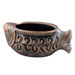 вазон керам. бронз Рибка, 35см
