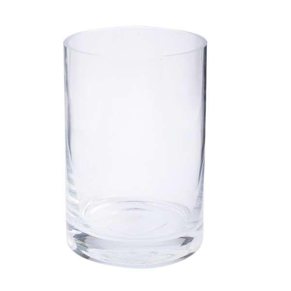 ваза 14 см стеклянная