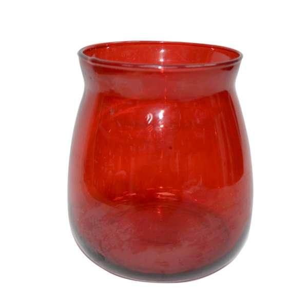 ваза рубин восьмерка стекл, 15 см