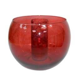 ваза рубин шарообразная для икебаны