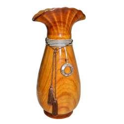 ваза для кол. під дерево з шнуром, кистями і підвіс.