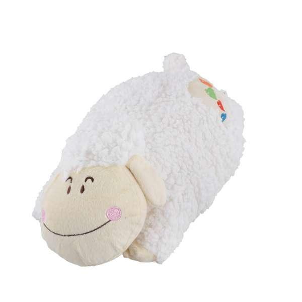 подушка Овечка белая, 42 см