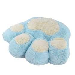 подушка лапа блакитна 40х45