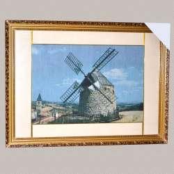 Картина гобелен під склом вітряк