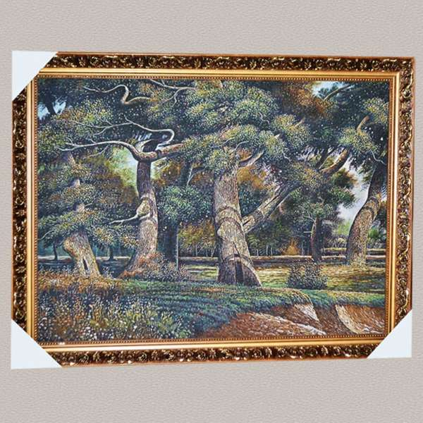 картина гобелен рама с цветами 57х77