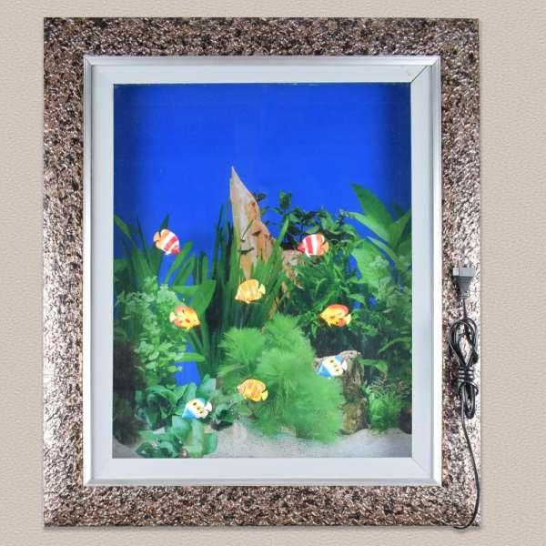 картина аквариум 60х70