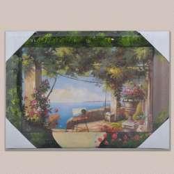 Картина Картина на мольберті у моря, 34 х 47см