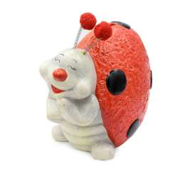 Копилка керамическая божья коровка счастливая 18х20х12 см