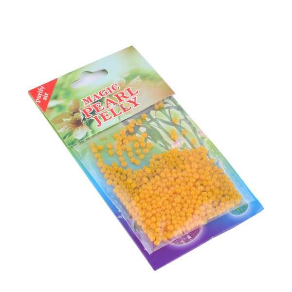 гелевые шарики для дизайна желтые