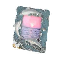 Рамка для фото ліплення море дельфіни 13х17 см для фото 8х11 см