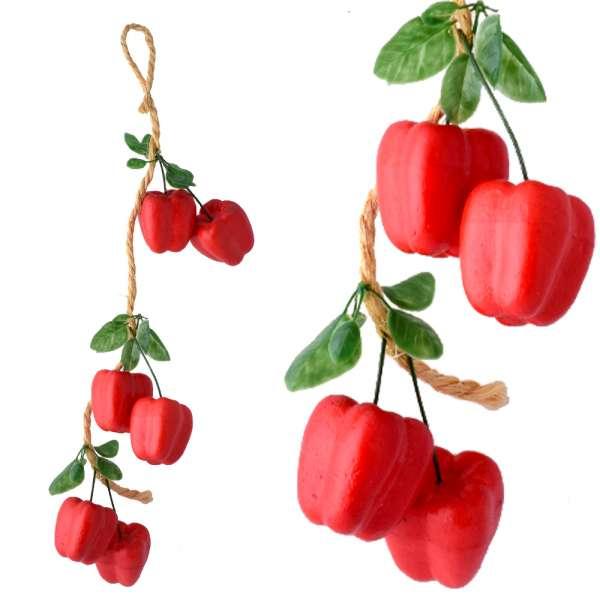 связка красного перца  декоративного